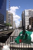 Sculpture of Animal, Paulista Avenue, São Paulo, Brazil