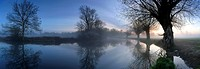 Mist on the River Stour at Flatford just before sunrise. The painter, John Constable, wrote of the Stour Valley to his friend John Fisher in 1821, the...