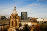 England, West Midlands, Birmingham, St Philip´s Cathedral, the third smallest cathedral in England, in the centre of Birmingham.