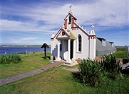 ITALIAN CHAPEL ORKNEY Decorated Prisoner of war Nissen church hut building Lambs Holm