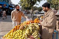 fruit and vegetable market in Pakistan
