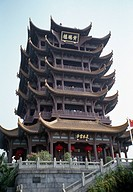 Yellow Crane Tower, Huang He Lou, Wuhan, Hubei Province, China
