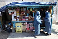 marketplace in Kabul, Afghanistan