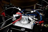 Probe station, Deposition laboratory, UHV dual chamber evaporator, CIC nanoGUNE, Nanoscience Cooperative Research Center, San Sebastian, Gipuzkoa, Eus...
