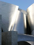 Exterior of Walt Disney Concert Hall, USA, California, Los Angeles, Frank Gehry, Architect