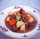 A plate of Irish Stew