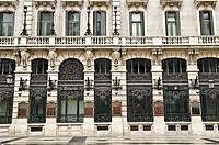 Exterior, Banco Español de Crédito, Madrid, Spain