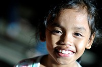 girl in cogon market cagayan de oro, mindanao philippines
