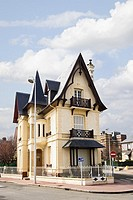 Traditional French Normandy house architecture