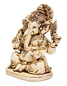 Close_up of a figurine of Lord Ganesha