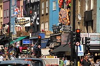 Camden town, Northwest London, London Borough of Camden, England, Great Britain, Europe