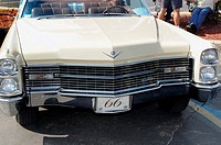Front end of a 1966 Cadillac convertible
