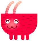 A cute Capricorn goat character