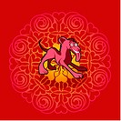 Chinese new year symbol of dog