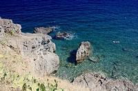 Argele`s-sur-Mer cove in the Catalan region