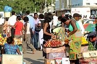 Street market, Lusaka, Zambia