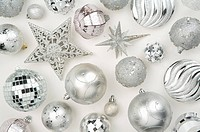 Christmas baubles and decoration items
