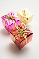 Three gift packages