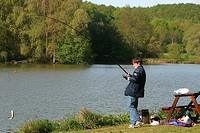 TROUT FISHING, VERT_EN_DROUAIS, EURE_ET_LOIR 28, FRANCE