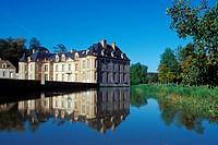 CHATEAU OF MONTILLY_SUR_AVRE, EURE_ET_LOIR 28, FRANCE