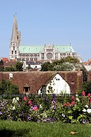 CHARTRES CATHEDRAL, EURE_ET_LOIR 28, FRANCE