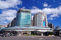 Taiwan, Taipei, Neihu, Taipei MRT, Wenshan_Neihu Line, Cheng_Gong Road