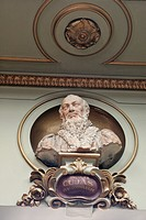 STATUE OF JACQUES CUJAS, HENRI MARTIN ROOM, CITY HALL, PLACE DU CAPITOLE, TOULOUSE, HAUTE_GARONNE 31, FRANCE