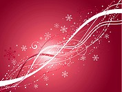 Decorative Christmas abstract background
