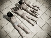 Naked children