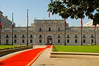 Palace of La Moneda, Goverment building of Santiago city Chile