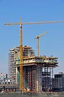 Baustelle, Kranhaus Nord am Rheinauhafen, Köln, Nordrhein_Westfalen, Deutschland, Europa