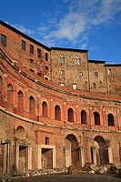 The Trajan´s Markets, Rome, Italy, Europe