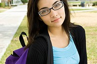 Female high school student, portrait (thumbnail)
