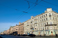 Russia, St Petersburg, Nevsky prospekt