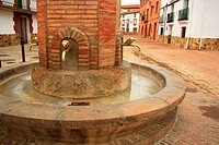 Fountain, Jaraba, Zaragoza province, Aragon, Spain