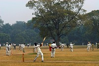 India, New Delhi, base ball (thumbnail)