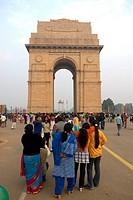 India, New Delhi, India Gate