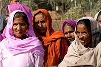 India, Haryana, hindu women