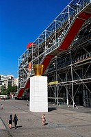France, Paris, Pompidou centre