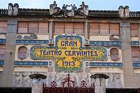 Morocco, Tangier, Cervantes theatre