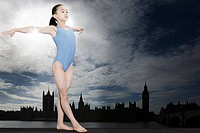 Girl gymnast in westminster