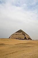 Bent Pyramid of Pharaoh Snofru, Dahshur, Egypt