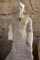 Statue at Karnak Temple, Luxor, Egypt