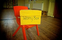 Worry Box for Primary School Children to Post their Problems