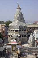 Overview of the Jagdish Temple, Udaipur, India