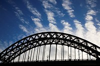 Tyne Bridge Newcastle Gateshead England