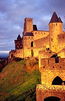 Carcassonne Medieval City, Languedoc, France