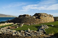 Gurness EVIE ORKNEY Iron age broch defensive fortifications ruins settlement