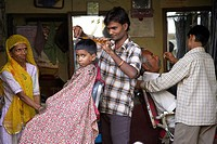 Barber Shop, Jodhpur, Rajasthan, India