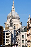 St Paul´s Cathedral, London, England.